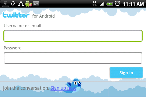 Twitter App for Android available for download
