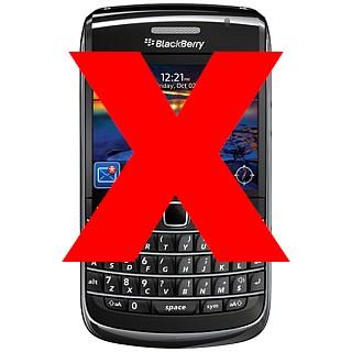 Blackberry service banned in UAE and Saudi Arabia