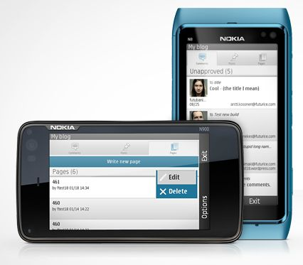 WordPress App for Nokia