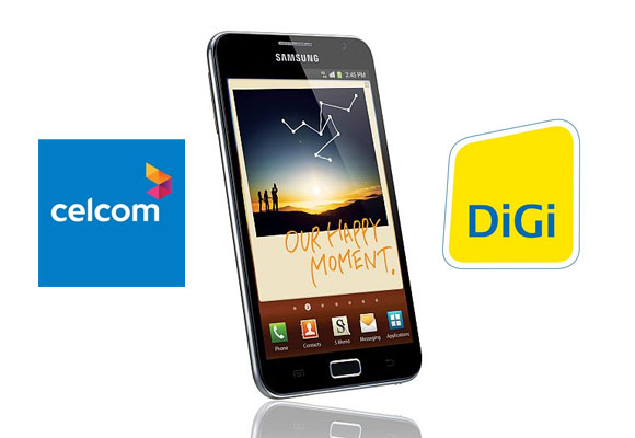 BREAKING: Galaxy Note will be offered by both Celcom and DiGi!