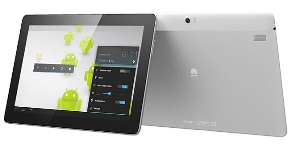 MWC 2012: Huawei MediaPad 10 FHD with 1920×1200 display