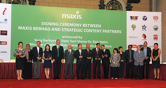 Maxis signs up with 14 content providers for upcoming IPTV service