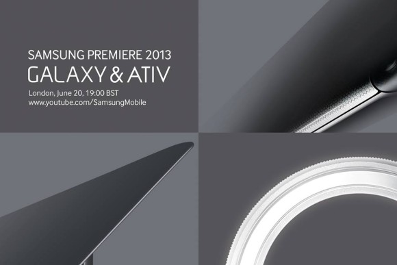 Samsung to unveil new Galaxy & ATIV devices on 20th June