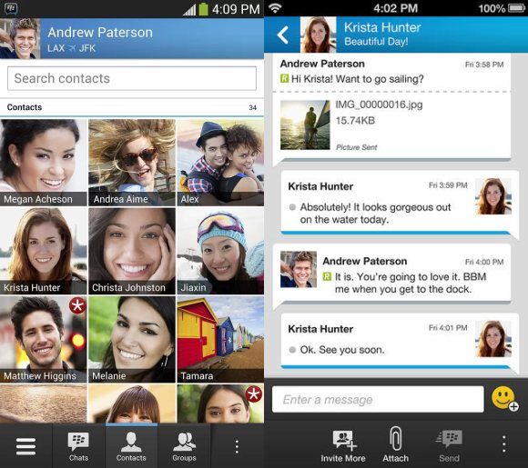 BBM for Android & iOS now available for download. Activation done in stages