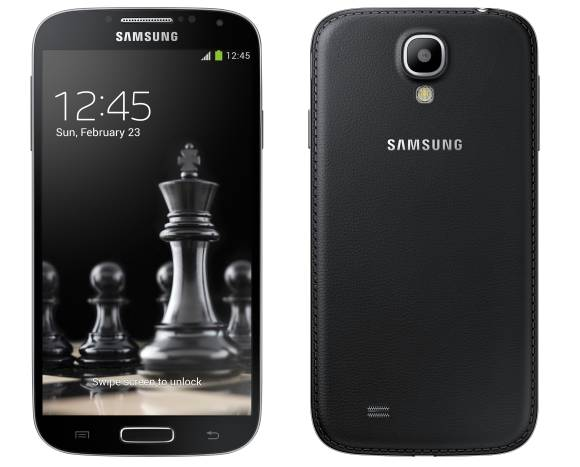 Samsung Galaxy S4 and Galaxy S4 mini gets classy with new Black Edition