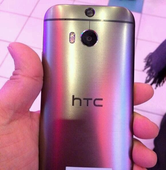 All new HTC One Silver