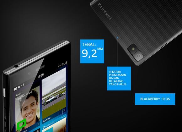 بررسی گوشی هوشمند BlackBerry Z3