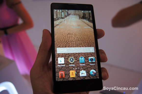 Hands-on: Huawei Honor 3C
