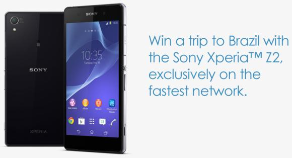 Celcom now offers the Xperia Z2 from RM988 and a chance to win a trip to Brazil
