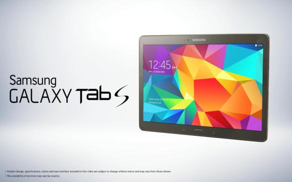 Samsung Galaxy Tab S to be incredibly thin and comes with NotePRO like features