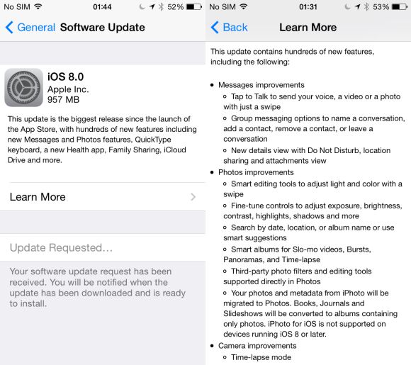 iOS 8 now rolling out to iPhone, iPod Touch and iPad users in Malaysia