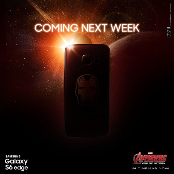 Samsung Galaxy S6 edge Iron Man edition is coming out next week