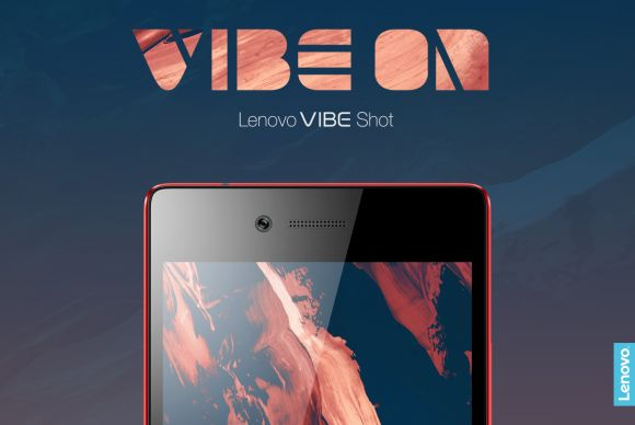 The Lenovo VIBE Shot with a 16MP camera and tri-LED flash is coming