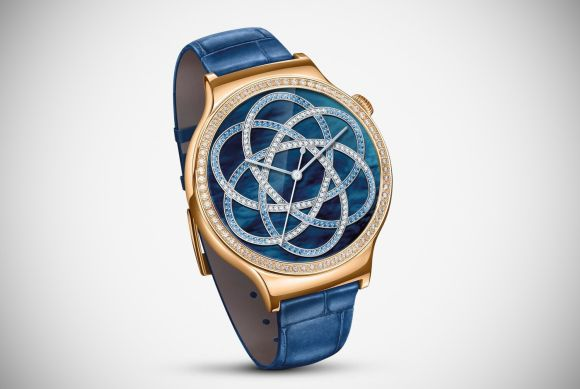 Huawei blings-out its Watch for the ladies with Swarovski crystals