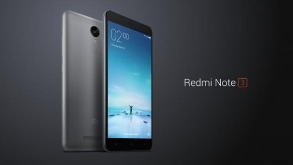 Xiaomi announces the Redmi Note 3 for international markets