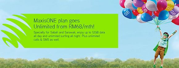 Now there's a MaxisONE plan that offers 5GB data and unlimited calls for RM68/month