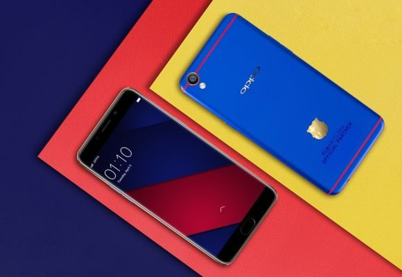 OPPO F1 Plus FC Barcelona Edition will be available in Malaysia soon