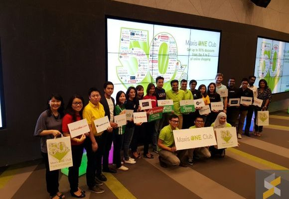 Maxis rewards its MaxisONE Club customers with exclusive shopping deals