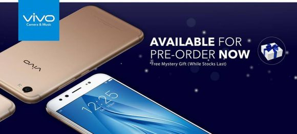 vivo V5 Plus is now open for pre-order in Malaysia