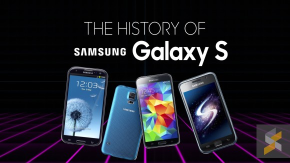 A look back at Samsung's iconic Galaxy S line