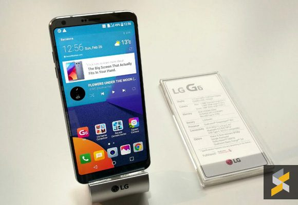 The LG G6 might officially go on sale in Malaysia soon