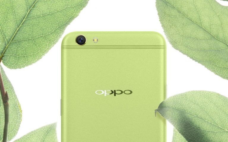 OPPO R9s goes green. Literally.