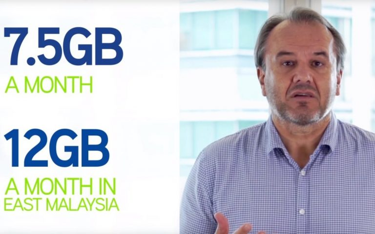 Maxis subscribers in East Malaysia use an average of 12GB/month