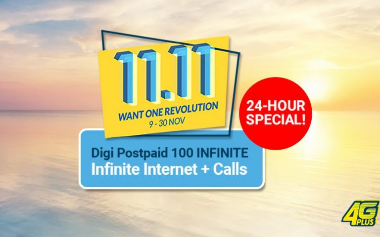 Digi's Postpaid 100 Infinite plan is back for 24 hours only