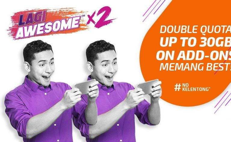 Xpax now offers Double Quota for Internet add-ons until year end