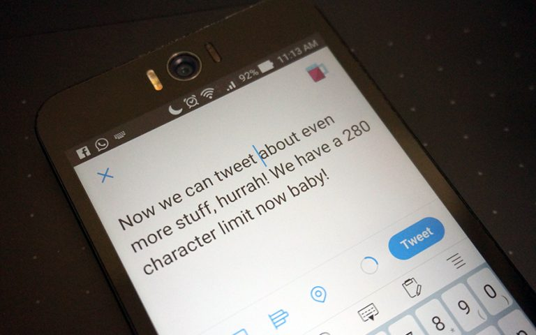 Twitter's new character limit has just gone live
