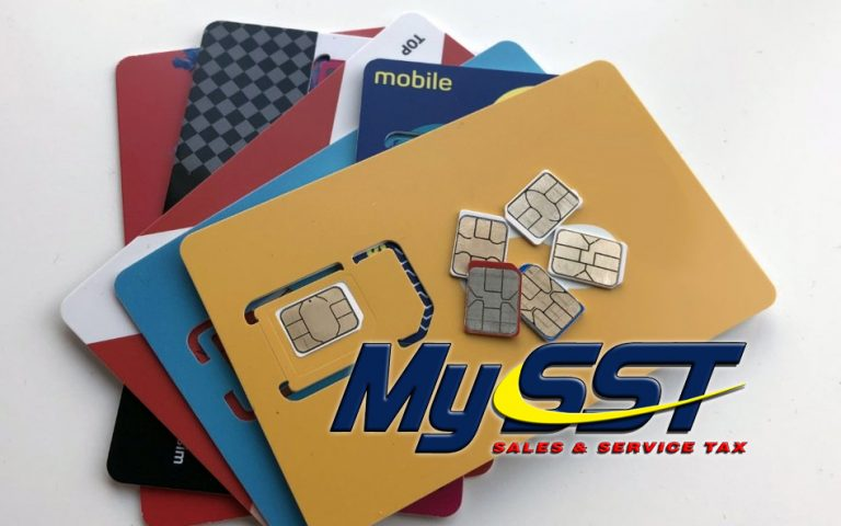 Mobile Prepaid services will be exempted from SST starting 6 September