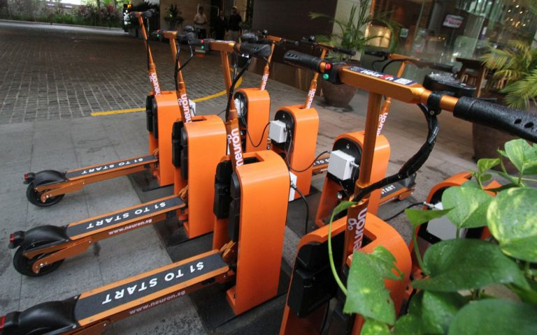 Neuron electric scooter sharing service is now available in Cyberjaya