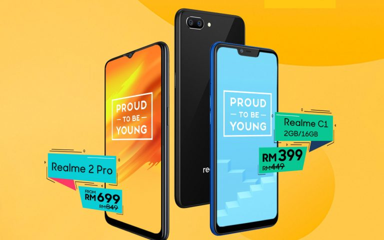 Realme Malaysia is having a sale on Shopee for two days only