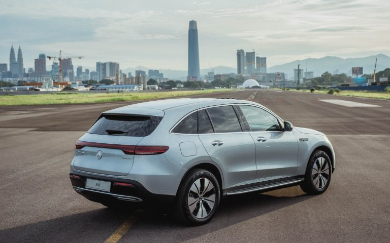 Malaysia is the first country in South East Asia to receive the all-electric Mercedes-Benz EQC