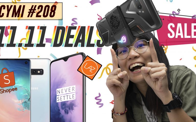 ICYMI #208: 11.11 smartphone deals, Celcom Free Video Walla extended & more!