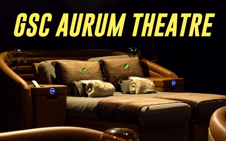I tried the RM150 GSC Aurum Theatre experience