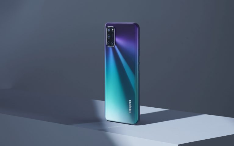 Oppo A92 in Aurora Purple is offered with RM497 worth of freebies