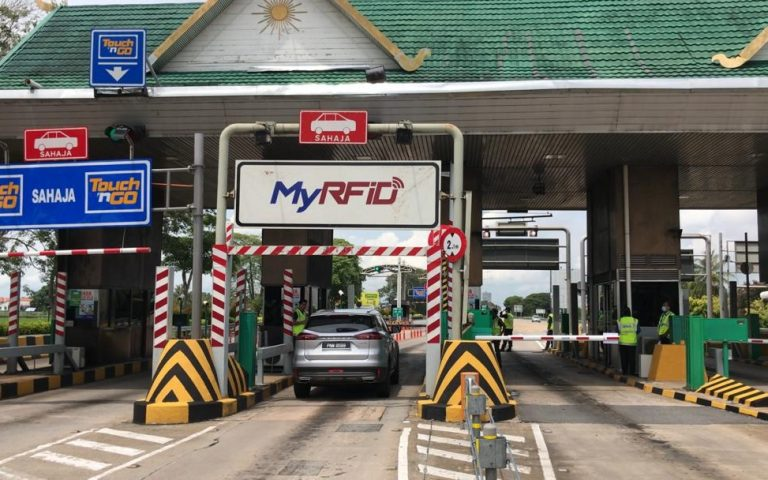 RFID will be enabled at Southern region toll plazas in early 2021