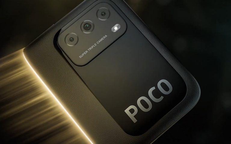 This is what the Poco M3 looks like