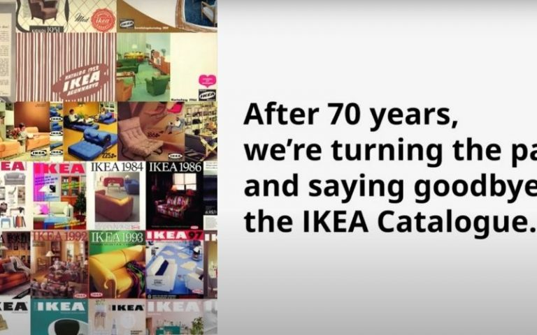 Ikea breaks 70-year tradition. Embraces going digital and the planet in the process