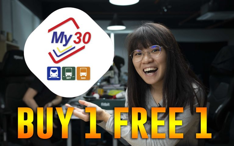 Rapid KL offers Buy 1 Free 1 promo for My30 unlimited pass | ICYMI #449