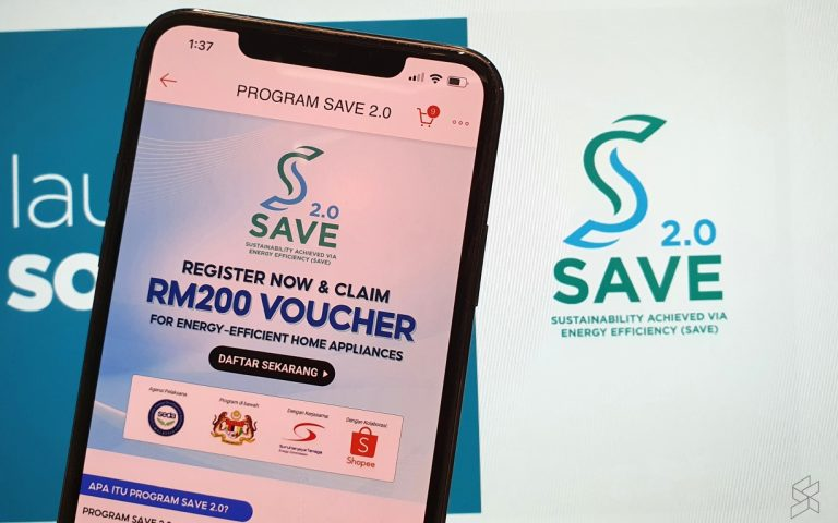 Save 2.0: How to claim RM200 voucher for energy-efficient home appliances via Shopee