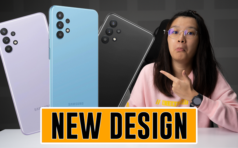 The upcoming Galaxy A32 has a new design! | ICYMI #455