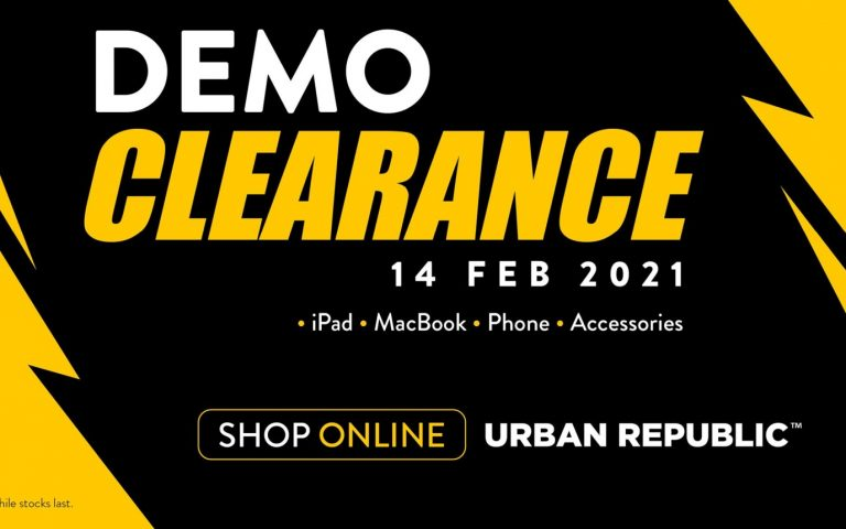 Urban Republic demo clearance sale offers MacBook units from RM2,700