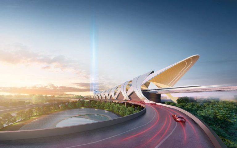 The JB-SG RTS Link Station looks like it belongs in the MCU's Asgard