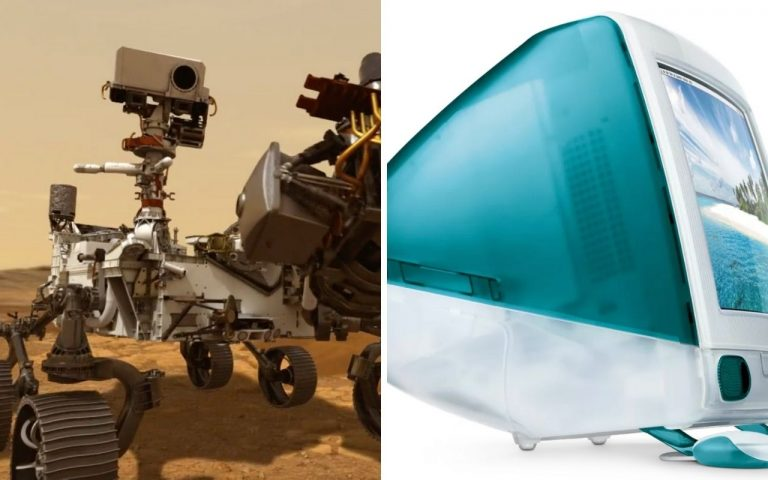 NASA Perseverance rover uses the same processor that powers the 1998 iMac