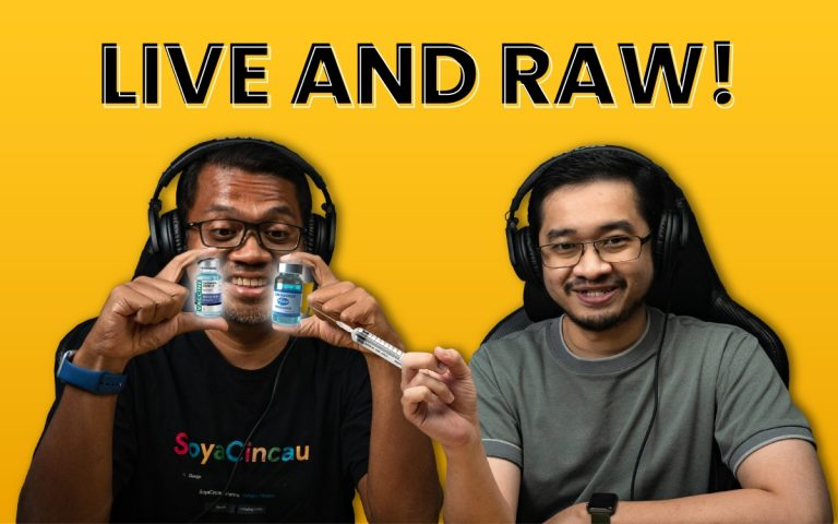 Got questions for us? Catch SoyaCincau Live and Raw this Friday at 6pm